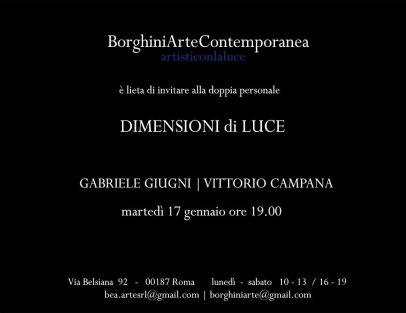 Borghini Arte Contemporanea - Gabriele Giugni e Vittorio Campana