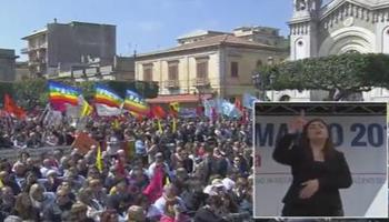 Locri, in 25mila scendono in piazza contro le mafie