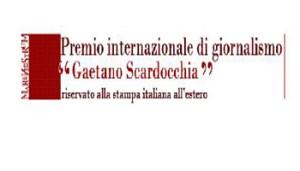 Goffredo PALMERINI - Logo Premio Internazionale di Giornalismo Gaetano Scardocchia - Goffredo Palmerini - 350X200