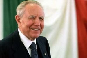 Goffredo Palmerini - il Presidente Carlo Azeglio Ciampi - Goffredo Palmerini