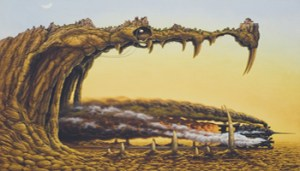 Jacek Yerka, Dragon Plesasure