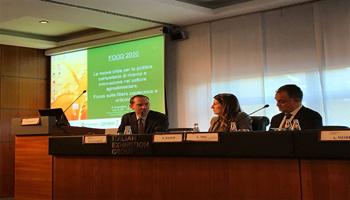 """Ecomondo, Food 2030. Giansanti (Confagricoltura): """"Dall'innovazione culturale delle filiere agroalimentari passa il processo di crescita sostenibile del Paese"""""""
