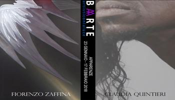 Save the date| Fiorenzo Zaffina_Claudia Quintieri| Apparenze | Borghini Arte Contemporanea – Martedì 23 Gennaio 2018