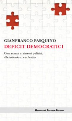 Gianfranco Pasquino - Deficit democratici02X copertina - Gianfranco Pasquino