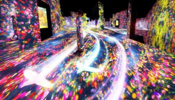 Tokyo, primo museo digitale, si può camminare nell'arte