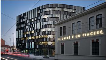 Lavazza, nuovo complesso funzionale per la sede centrale dell'azienda di produzione di caffè