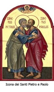 Icona dei Santi Pietro e Paolo - iconesacremirabile-wordpress-com