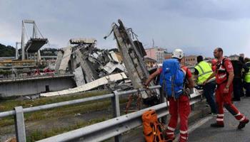 Lutto a Genova per il crollo del ponte: almeno 39 le vittime, 3 sono bambini