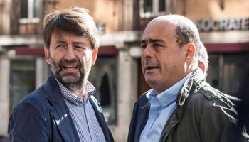 Leadership Pd, sprint di Zingaretti. Franceschini con lui, siluro a Renzi