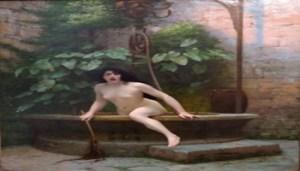 Jean-Léon Gerome, La Verità che Esce dal Pozzo, 1896