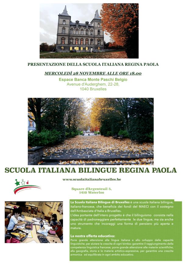 Comites - Scuola Italiana Bilingue Waterloo - Regina Paola - POSTER-LANCIO-SCUOLA_COMPLETO
