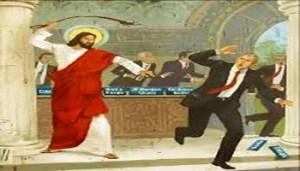 Gesù Caccia i Borghesi