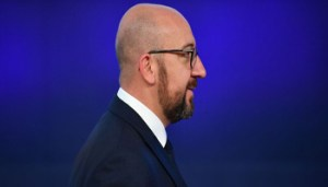 Belgium's Prime Minister Charles Michel arrives for a Asia Europe Meeting (ASEM) at the European Council in Brussels on October 19, 2018. (Photo by Ben STANSALL / AFP)        (Photo credit should read BEN STANSALL/AFP/Getty Images)