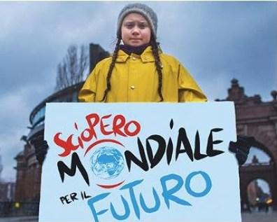 Ggreta - Global Strike - Sciopero Mondiale per il Clima - 15 Marzo 2019 - Il Giornale di Monza
