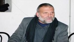 Paolo dall'Oglio a Cori in una foto d'archivio. ANSA