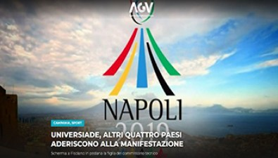 Napoli 2019 - Scherma - Agenzia Giornalistica Il Velino - 350X200