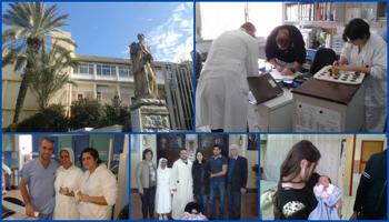 La missione all'Ospedale Italiano di Nazaret