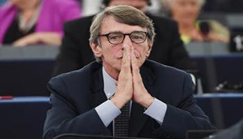 Europarlamento, Sassoli presidente