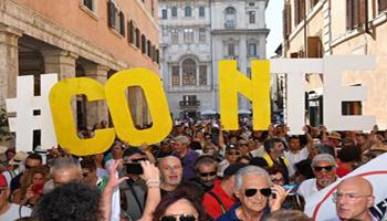 Conte leader M5S, boom di consensi