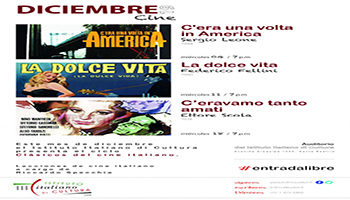 """Serate di cinema italiano – Proiezione del film """"C'era una volta in America"""" (1984)"""
