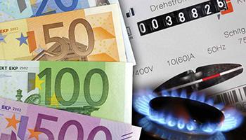 Bollette, crollano tariffe di gas ed elettricità