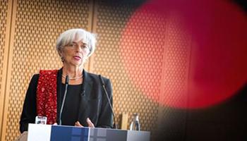 """Lagarde: """"Covid può avere impatto doppio rispetto a crisi 2008"""""""
