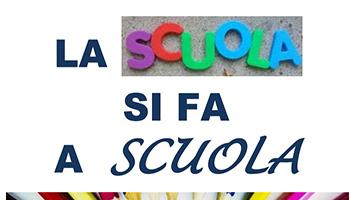 """""""La Scuola Si Fa A Scuola""""  Videoconferenza Stampa"""