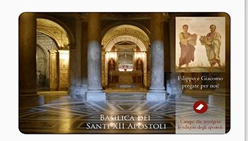 Basilica Santi XII Apostoli: reliquie dei Santi Filippo E Giacomo il minore