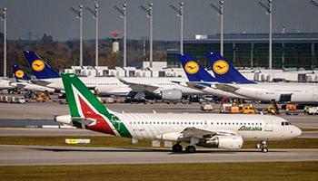 Covid-19, Ue approva aiuti di Stato Italia a compagnie aeree