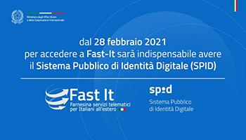 Portale Fast It, dal 2021 necessarie credenziali SPID
