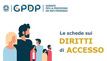 Garante per la protezione de dati personali: Le schede sui diritti di accesso ai dati personali*