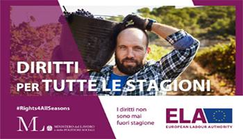 """Per un lavoro più equo: """"Rights for all seasons"""", la campagna europea per i diritti dei lavoratori stagionali"""