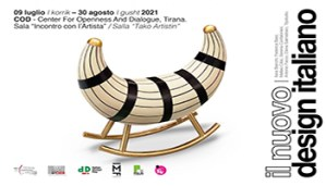 Tirana: mostra su giovani talenti design italiano