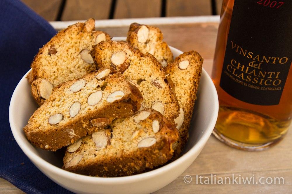 Soft Almond Biscotti Recipe