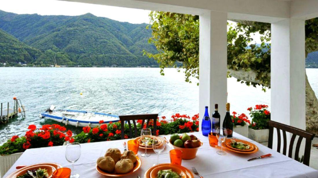 holiday home lake lugano