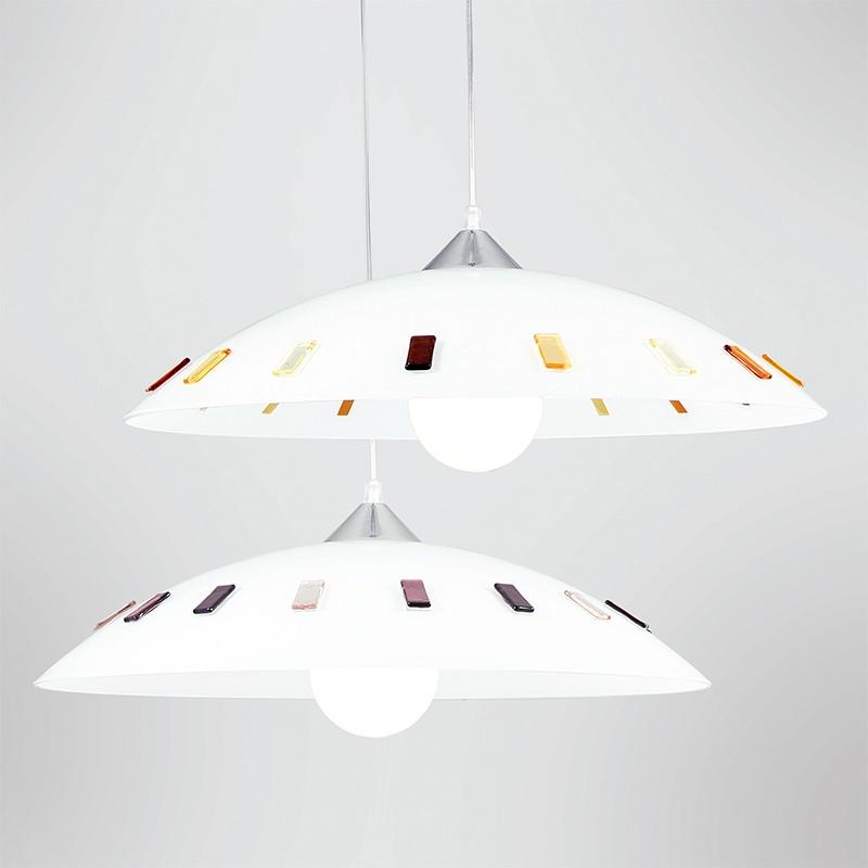 Lampada da soffitto di lusso per sala da pranzo, lampada da cucina, design a mosaico, in un set con illuminazione a led. Search Italianlightstore
