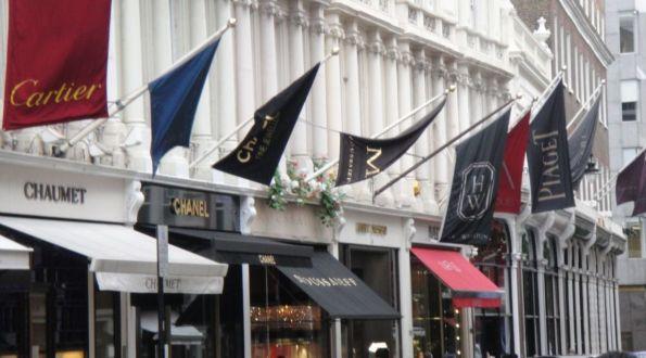 Old Bond Street Luxury Boutiques, London