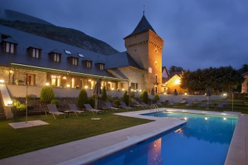 "Typical ""Parador"" trasformed in a Luxury Resort, Spain"