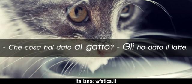 непрямі особові займенники в італійській мові