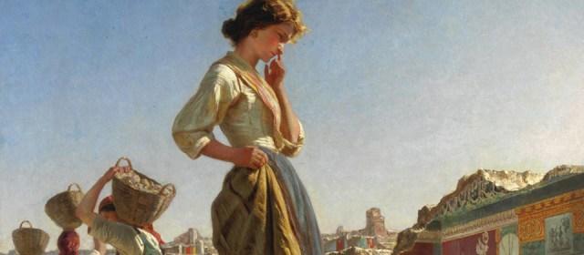 «Дівчинка на розкопках Помпеї», Філіппо Паліцці