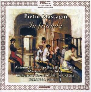CD In Filanda di Mascagni, copertina