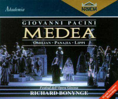fronte di copertina del CD della Medea di Giovanni Pacini