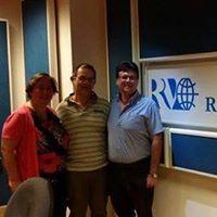 Anna Trombetta, Luca Bianchini e Luigi Picardi alle trasmissioni L'Arpeggio di Radio Vaticana