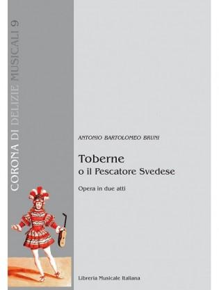 copertina della partitura del Toberne di Bruni per la LIM