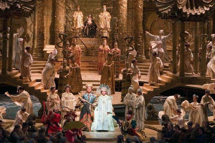 Opere liriche: scena dalla Turandot di Giacomo Puccini