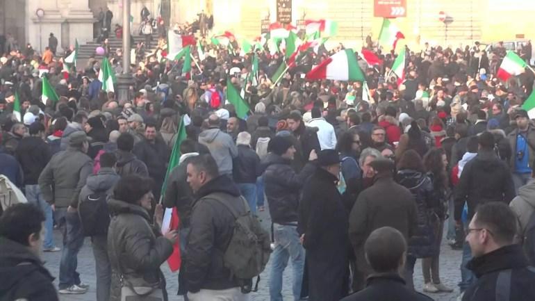 Unioni civili 5 marzo roma