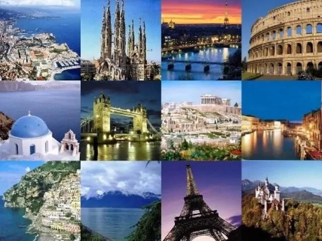 turismo europa collage