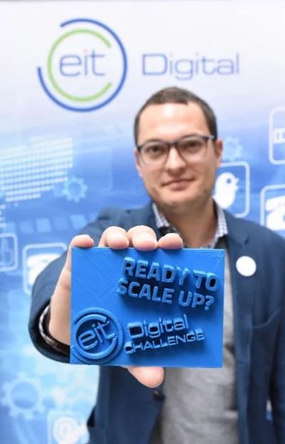 startup Eit Digital challenge Krabbe