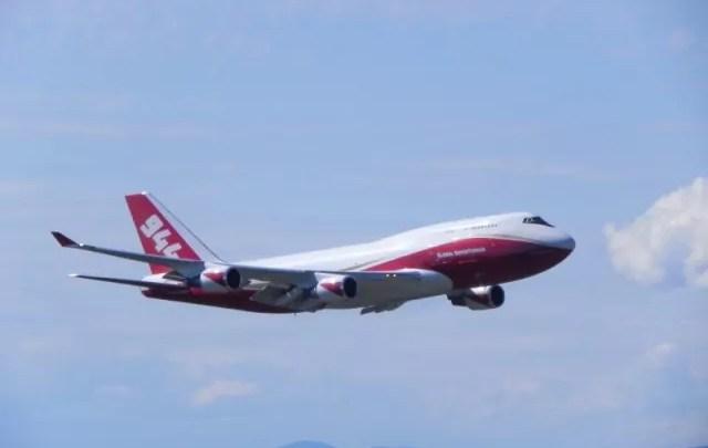 Air tanker 944 dal Boeing B747-400 antincendi