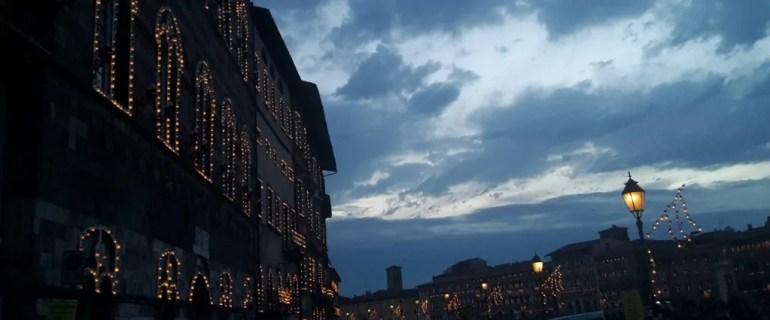 Pisa edificio lumini Luminara (ph. In24/P. Russo)